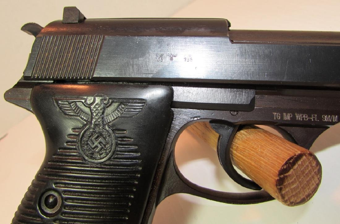 1943 MAUSER P38 9mm PISTOL PARTY GRIPS HANDGUN - 4