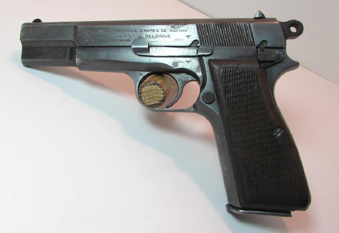 FN NAZI WWII BROWNING HI POWER 9mm PISTOL PROOFS