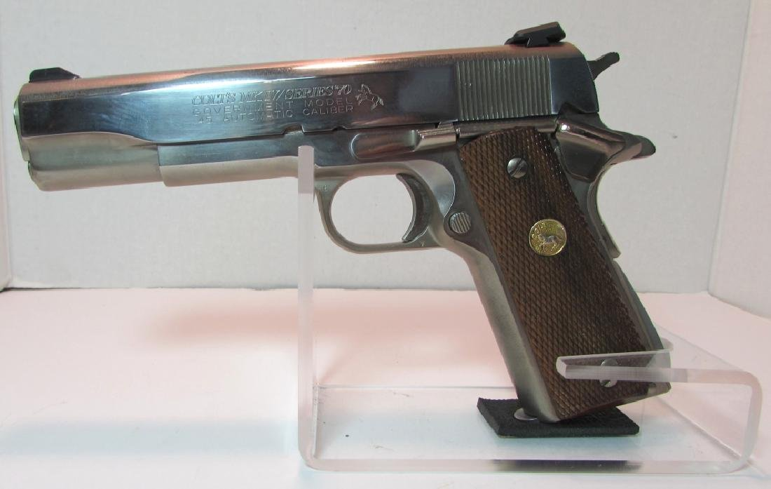 COLT 1911 MKIV 45 ACP 70 HANDGUN GOVERNMENT MOD