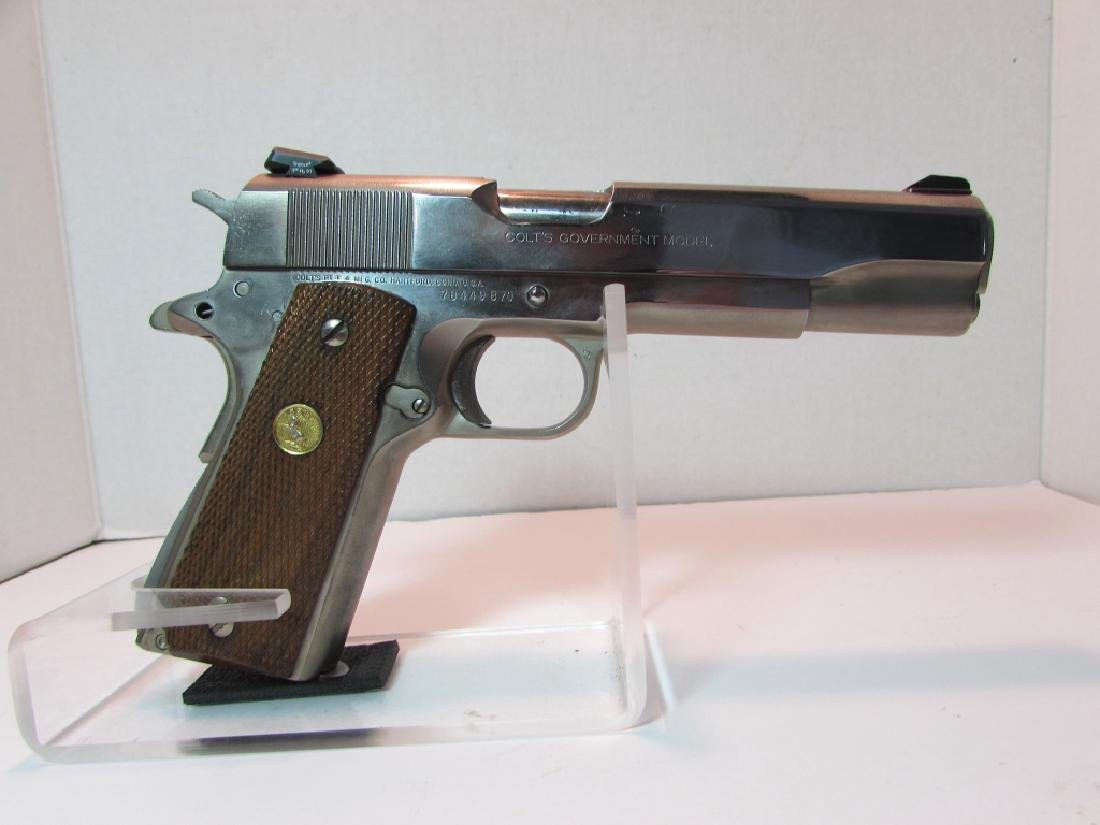 COLT 1911 MKIV 45 ACP 70 HANDGUN GOVERNMENT MOD - 2