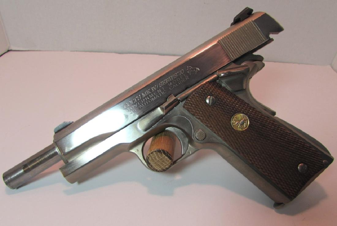 COLT 1911 MKIV 45 ACP 70 HANDGUN GOVERNMENT MOD - 5