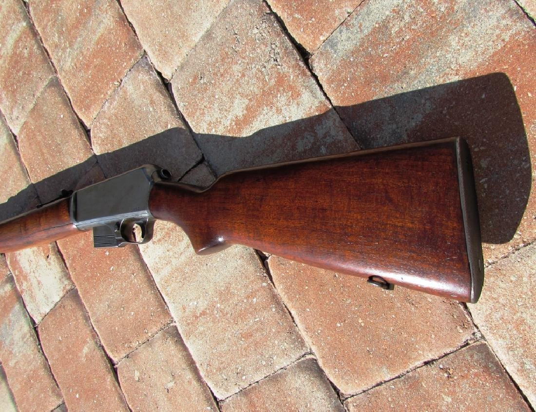 WINCHESTER MOD 1907 SL 351 CAL RIFLE LONG GUN USA - 4