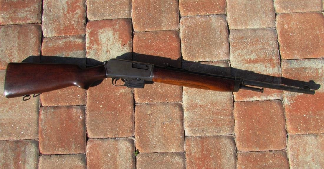 WINCHESTER MOD 1907 SL 351 CAL RIFLE LONG GUN USA - 6