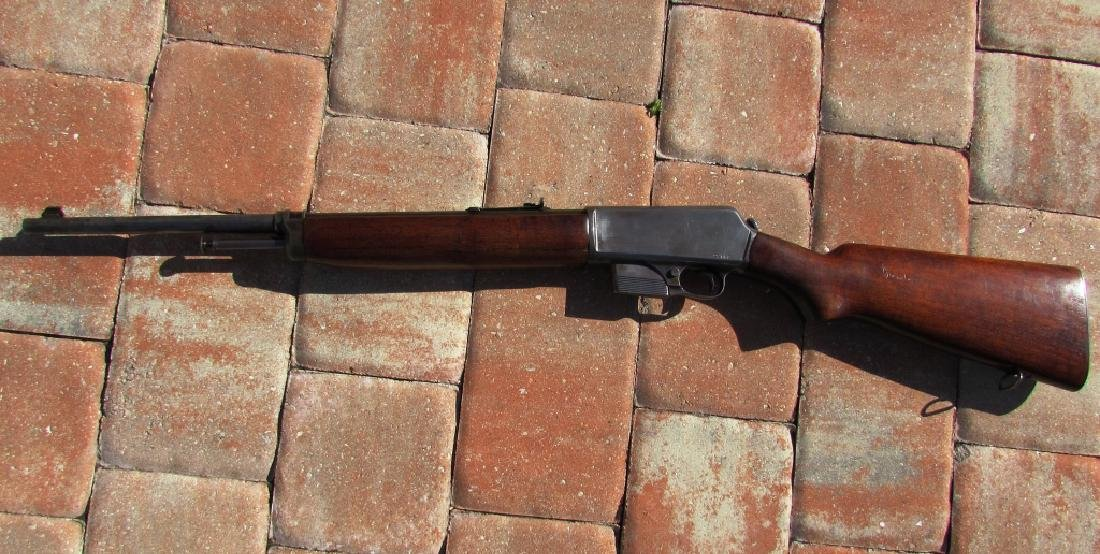 WINCHESTER MOD 1907 SL 351 CAL RIFLE LONG GUN USA - 9