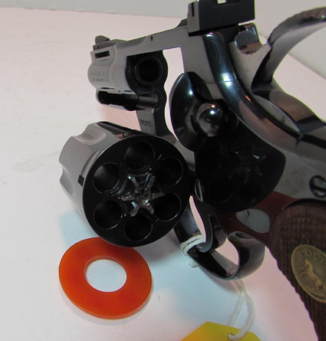 "COLT PYTHON 2.5"" BLUED 357 MAG HANDGUN BOX PAPERS - 8"