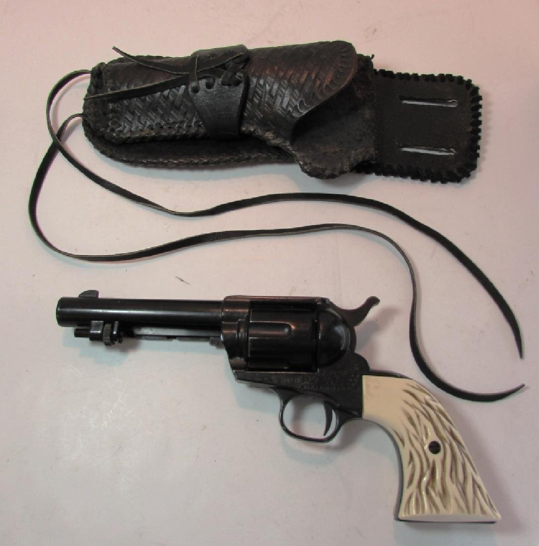 "HAHN ""45"" BB GUN SINGLE ACTION REVOLVER w HOLSTER"
