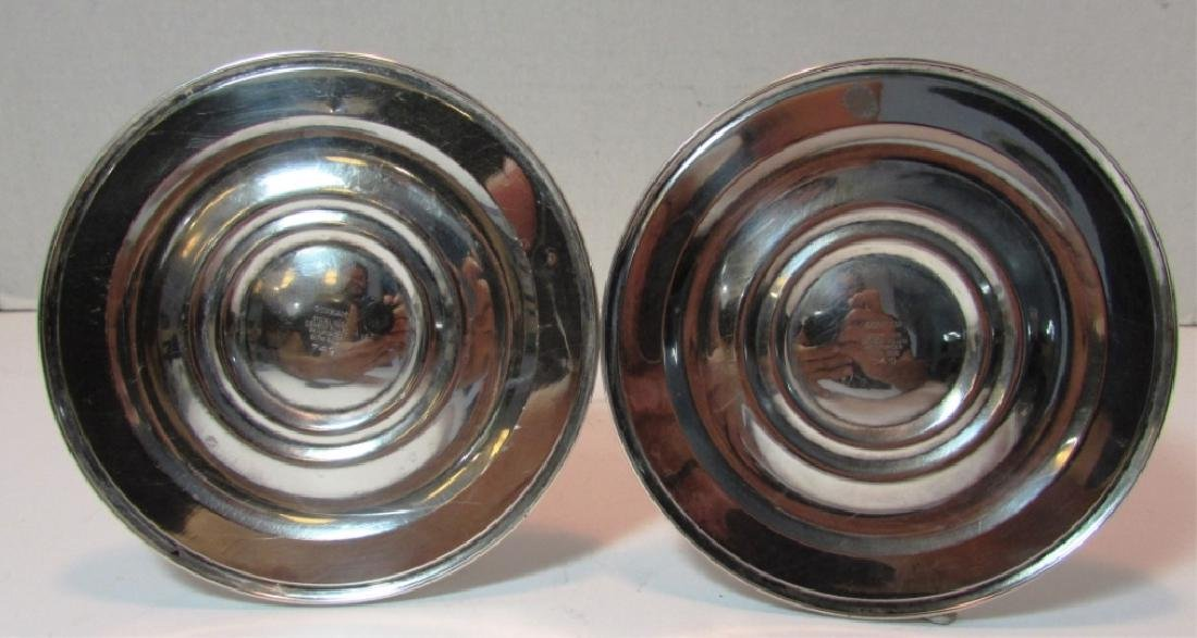 GORHAM STERLING SILVER CANDLE STICK HOLDERS 749 - 3