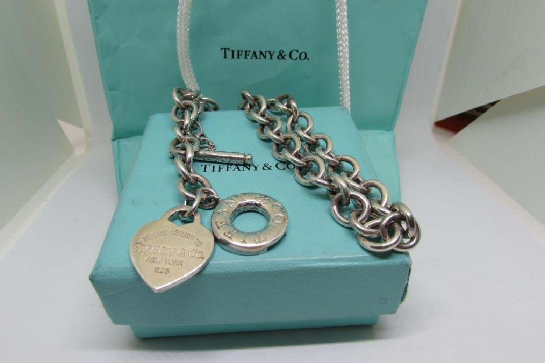 TIFFANY & CO NECKLACE STERLING SILVER 70 GRAMS