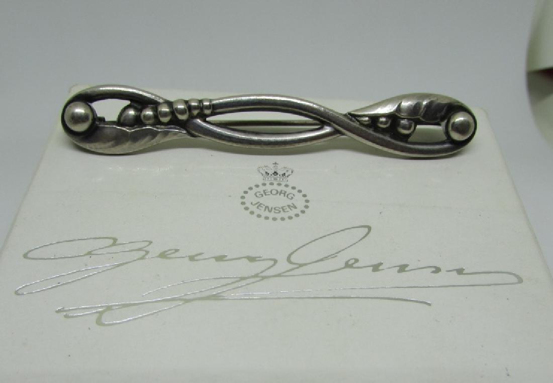 GEORG JENSEN PIN #110 STERLING SILVER DENMARK