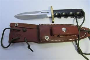 RANDALL COMBAT COMPANION DOUBLE EDGED KNIFE SS