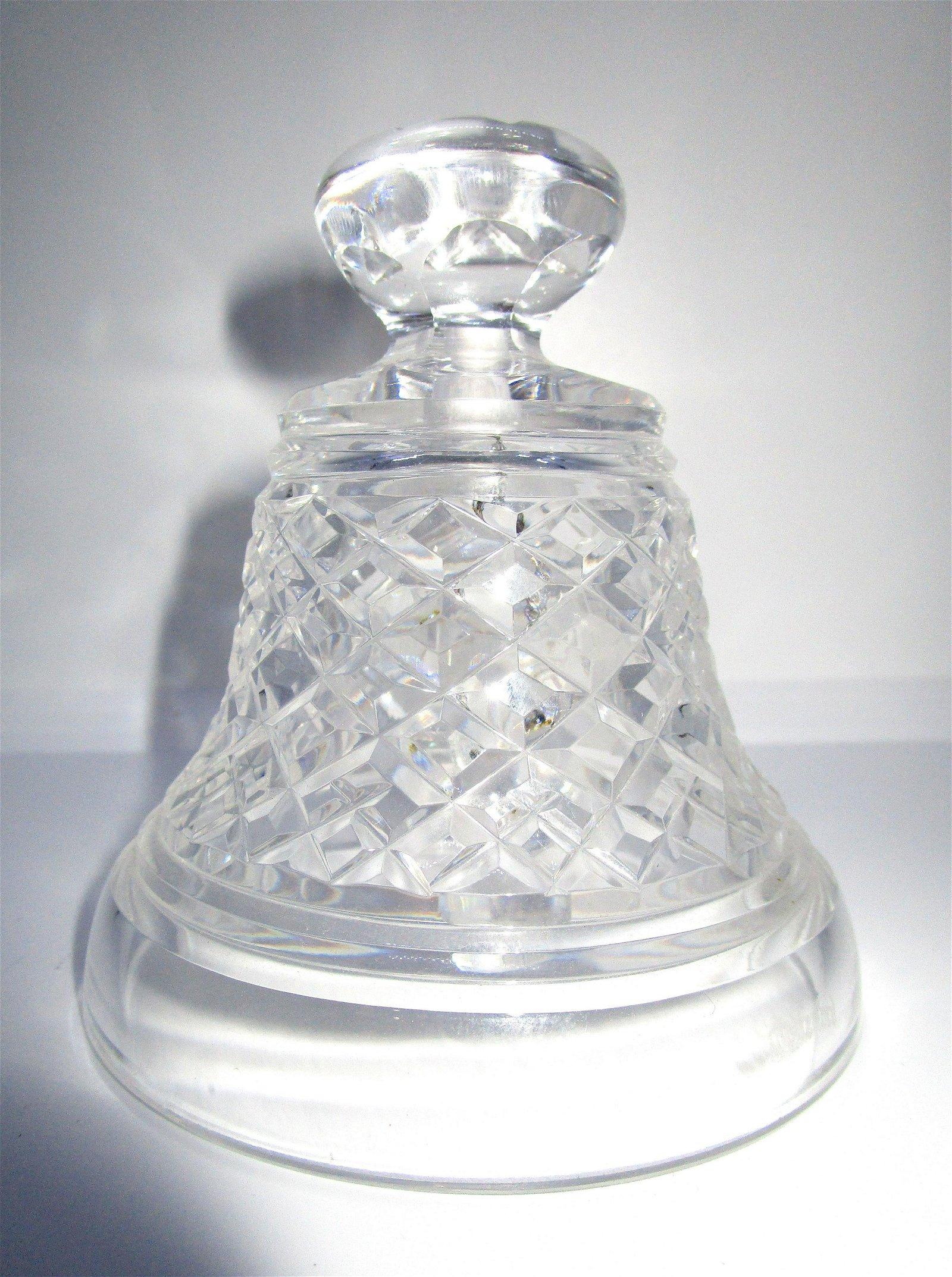 WATERFORD CUT CRYSTAL NOEL BELL 1977 CHRISTMAS