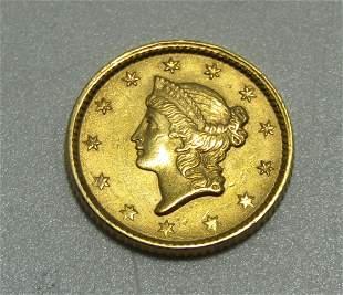 1953 US 1 DOLLAR GOLD COIN