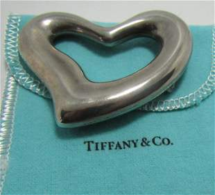 TIFFANY & CO BELT BUCKLE NECKLACE STERLING SILVER