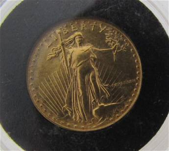 1986 US $5 GOLD EAGLE FIRST YEAR ROMAN NUMERAL