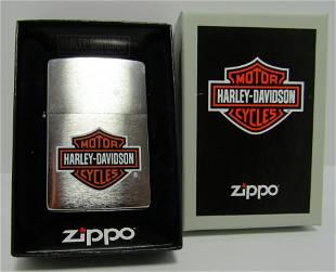 HARLEY DAVIDSON ZIPPO LIGHTER LIKE NEW IN BOX