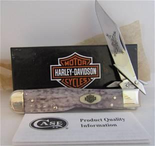 HARLEY DAVIDSON CASE XX KNIFE NEW IN BOX CHEETAH