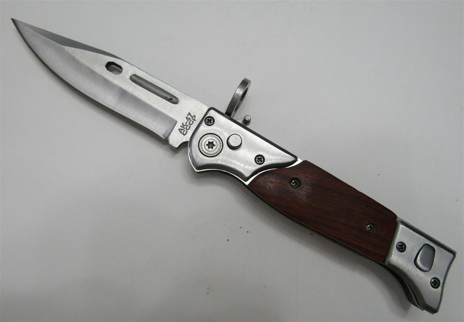 AK47 SWITCHBLADE BAYONET KNIFE