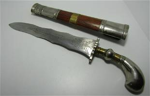 MIDDLE EAST ARAB KNIFE DAGGER.