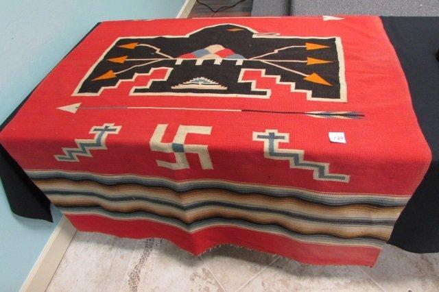 Swastika Rug Home Decor