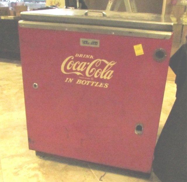 Upright Coca Cola Vending Machine Vintage