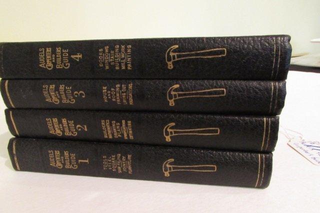 4 Vol. Audels Carpenter & Builders Guide