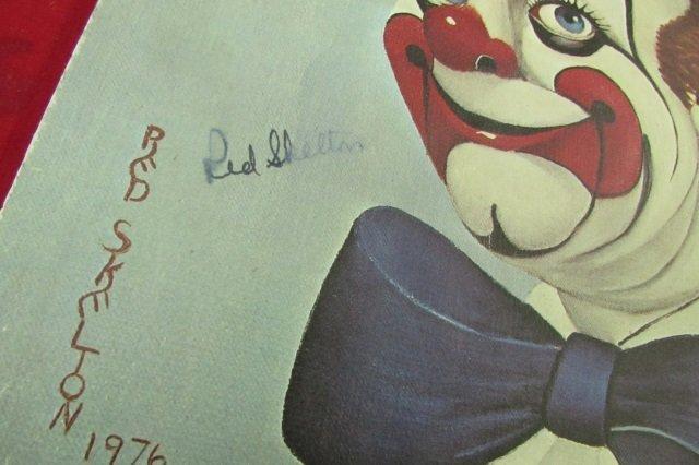 3 Red Skelton Clown Litho Prints Signed - 3