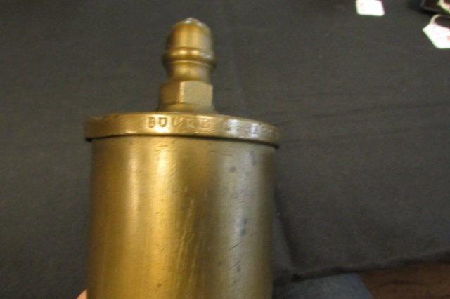 #9 Buckeye Brass Train Whistle Steam Locomotive - 2