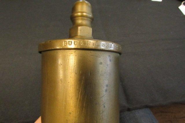 #9 Buckeye Brass Train Whistle Steam Locomotive - 3