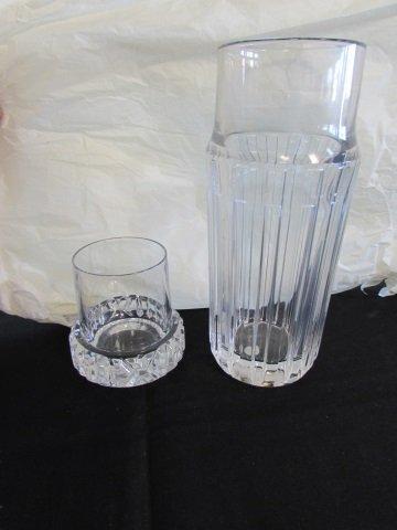 TIFFANY & CO ATLAS BOTTLE DECANTER CARAFE & GLASS - 5