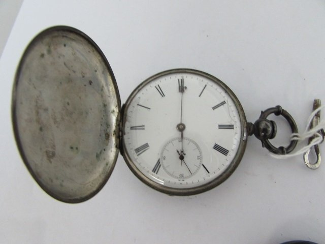 ULYSSE PERRET LOCLE PATENT LEVER POCKET WATCH 18S