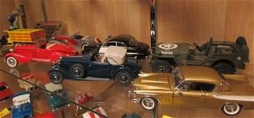 7 Danbury Mint Die Cast Cars MIB Cert & Box