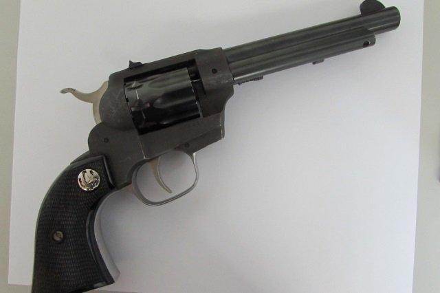 J.C.HIGGINS RANGER 22 CAL 9 SHOT REVOLVER GUN