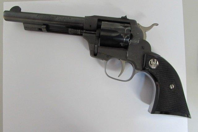 J.C.HIGGINS RANGER 22 CAL 9 SHOT REVOLVER GUN - 2