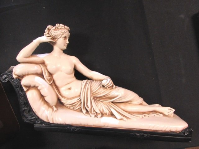 Marwal Reclining Venus Nude Statue Lounging on Sofa  sc 1 st  LiveAuctioneers & Reclining Venus Nude Statue Lounging on Sofa islam-shia.org