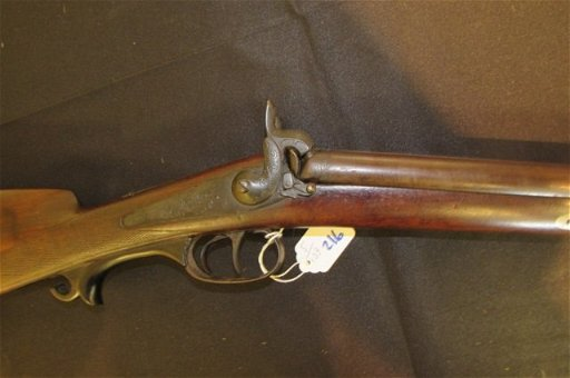 1880's Double Barrel Shotgun by Lepage A Liege