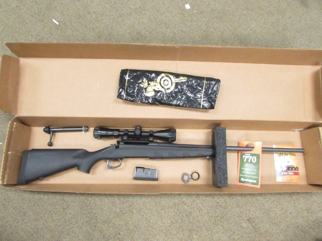 REMINGTON 770 300 WINCHESTER MAG w/ SCOPE IN BOX.