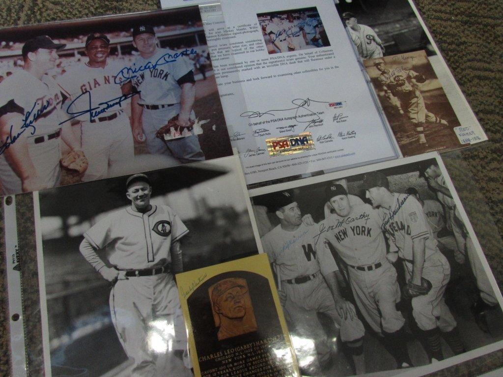 1930's-1970's Baseball Autograph Collection