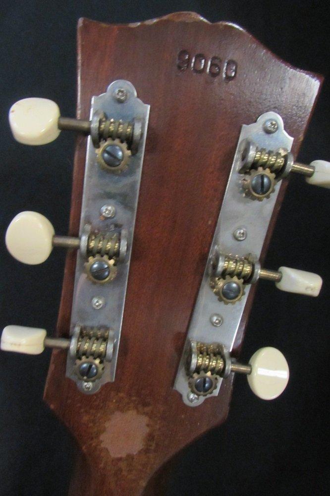 1961 GIBSON LGO ACOUSTIC GUITAR IN ALLIGATOR CASE - 9