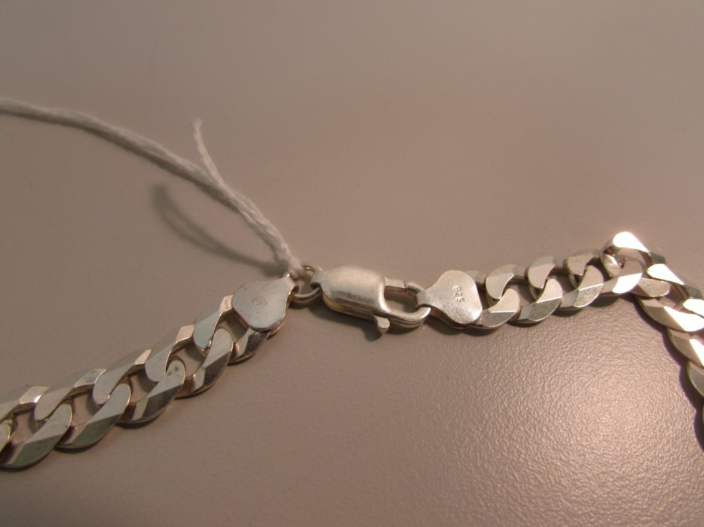"""24"""" STERLING SILVER CHAIN LINK NECKLACE 50 GRAMS - 3"""