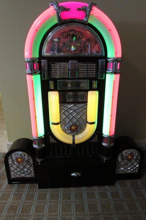 JUKEBOX CROSLEY BUBBLER CD PLAYER STEREO RADIO
