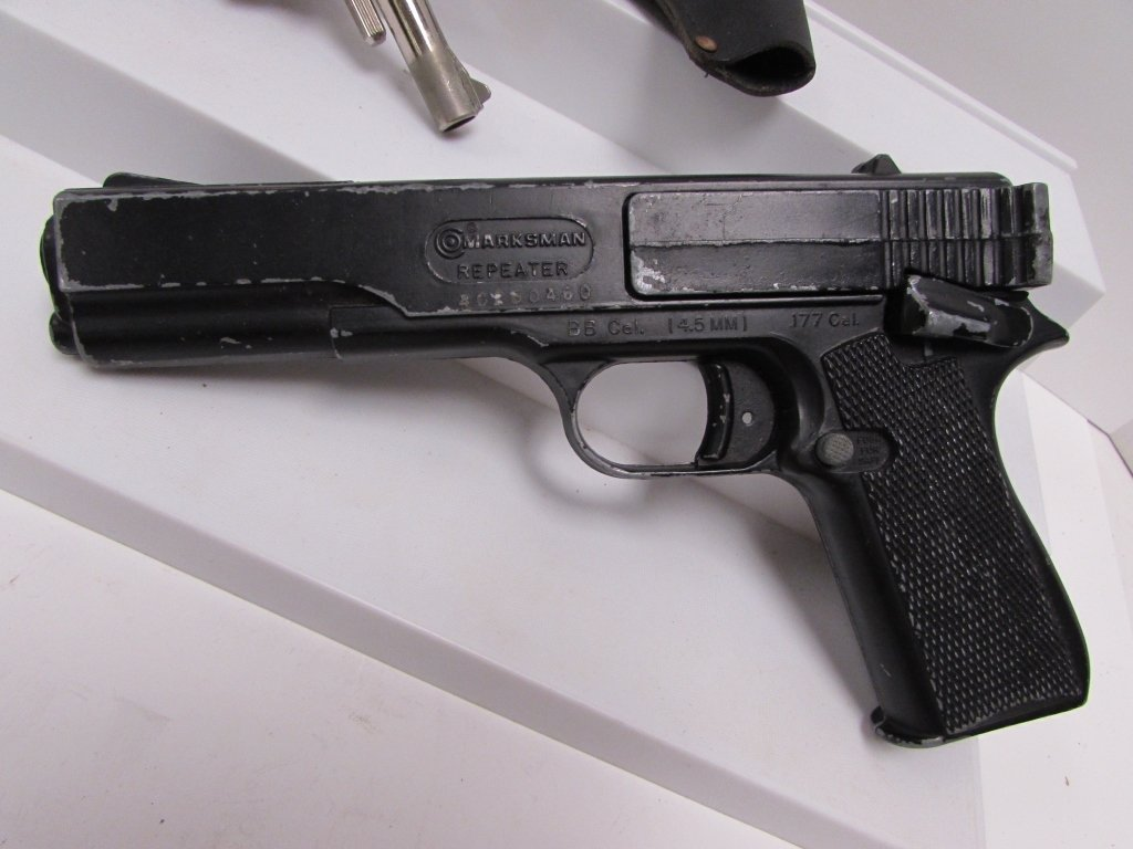 STARTER PISTOL BB GUN MARKSMAN ITALY USA - 2