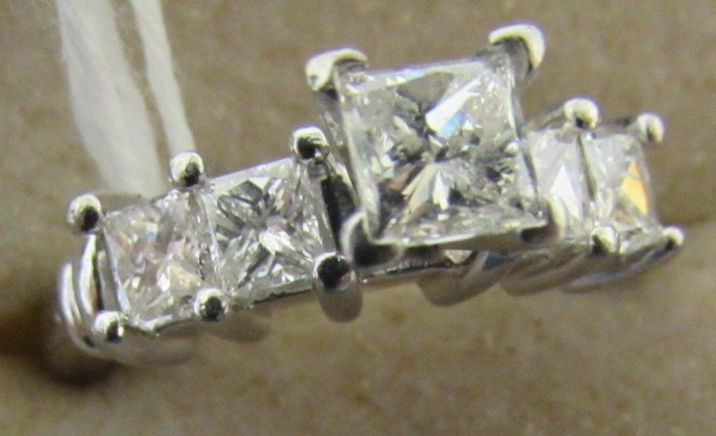 1.5CT DIAMOND RING PLATINUM PRINCESS