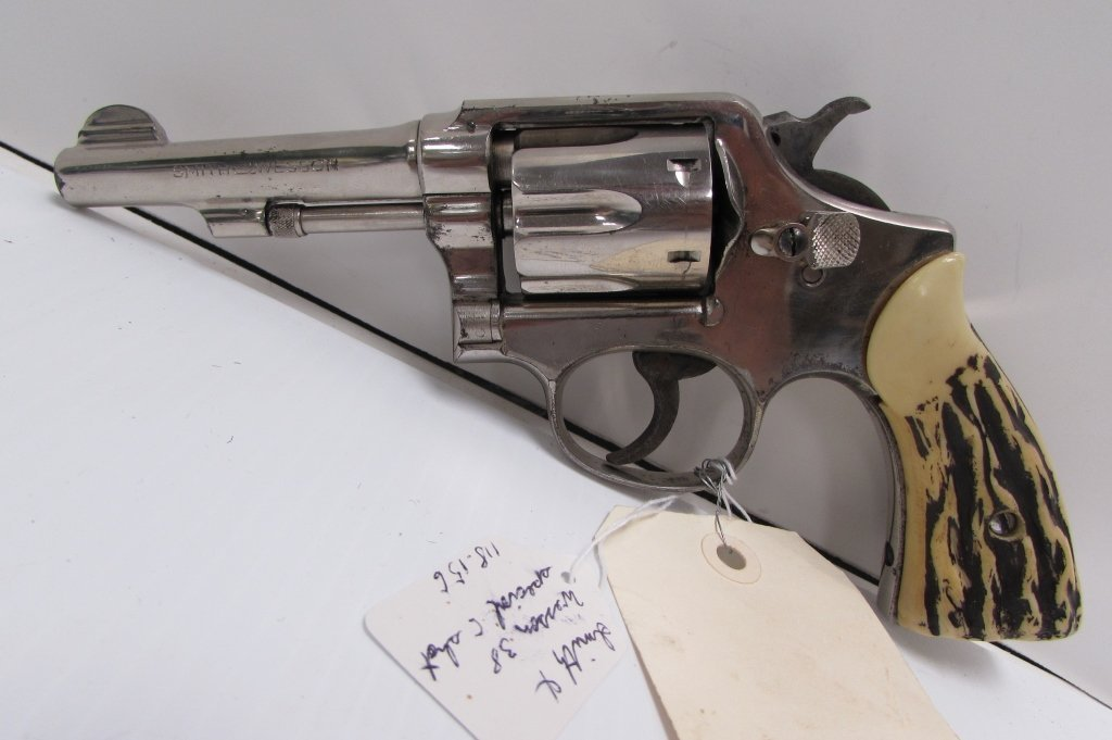 SMITH & WESSON 38 SPECIAL HANDGUN CTG REVOLVER - 2