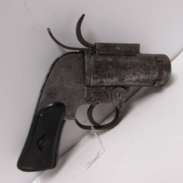US M8 37mm WWII FLARE GUN VERY PISTOL EUREKA