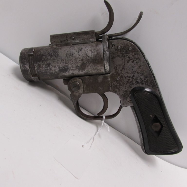 US M8 37mm WWII FLARE GUN VERY PISTOL EUREKA - 3