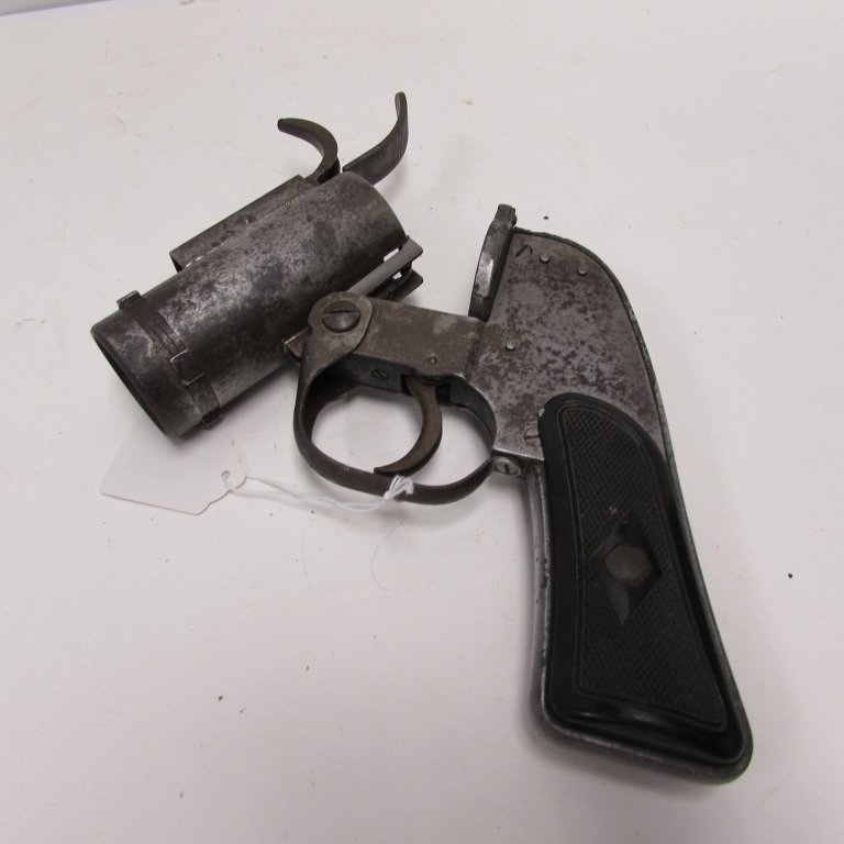 US M8 37mm WWII FLARE GUN VERY PISTOL EUREKA - 5