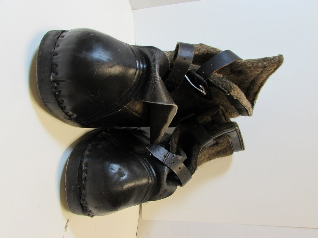 NAZI WINTER BOOTS EASTERN FRONT SNOW GERMAN - 2