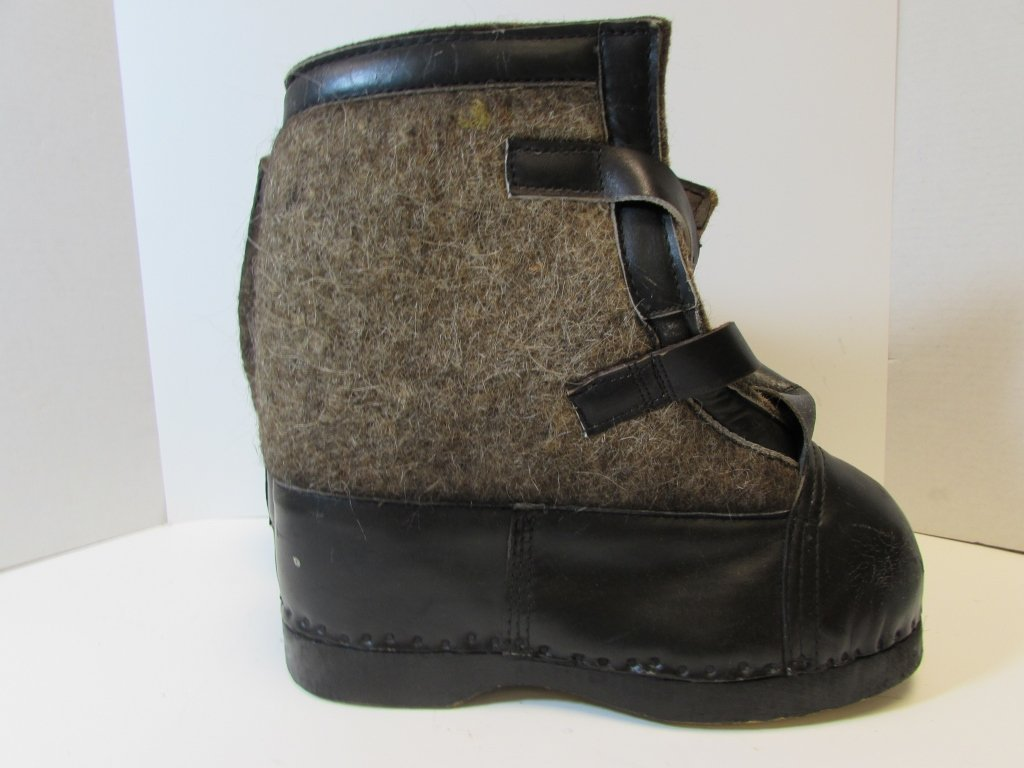 NAZI WINTER BOOTS EASTERN FRONT SNOW GERMAN - 3