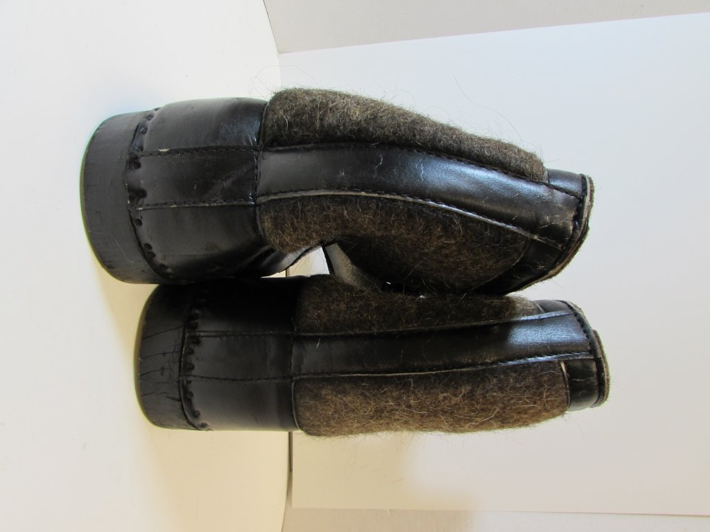 NAZI WINTER BOOTS EASTERN FRONT SNOW GERMAN - 4