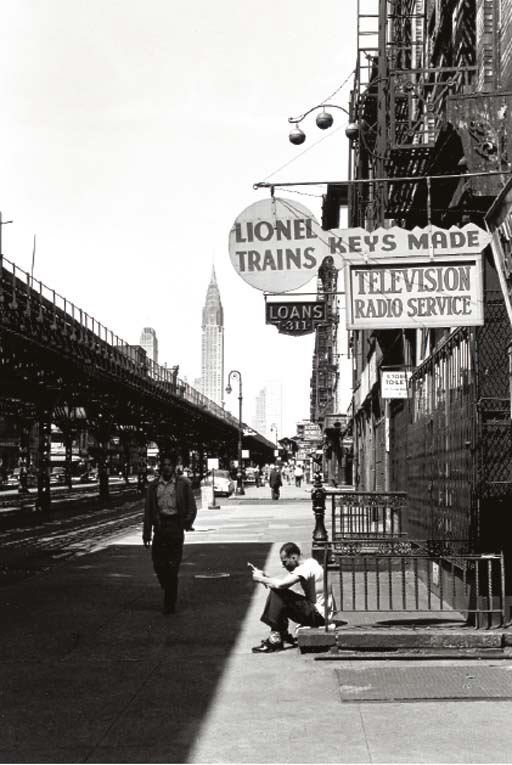 LOUIS STETTNER PHOTOGRAPH 1953 LIONEL 3rd AVE NYC